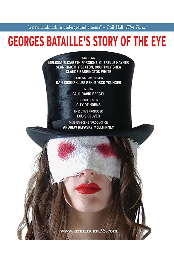 Georges Bataille's Story of the Eye kapak