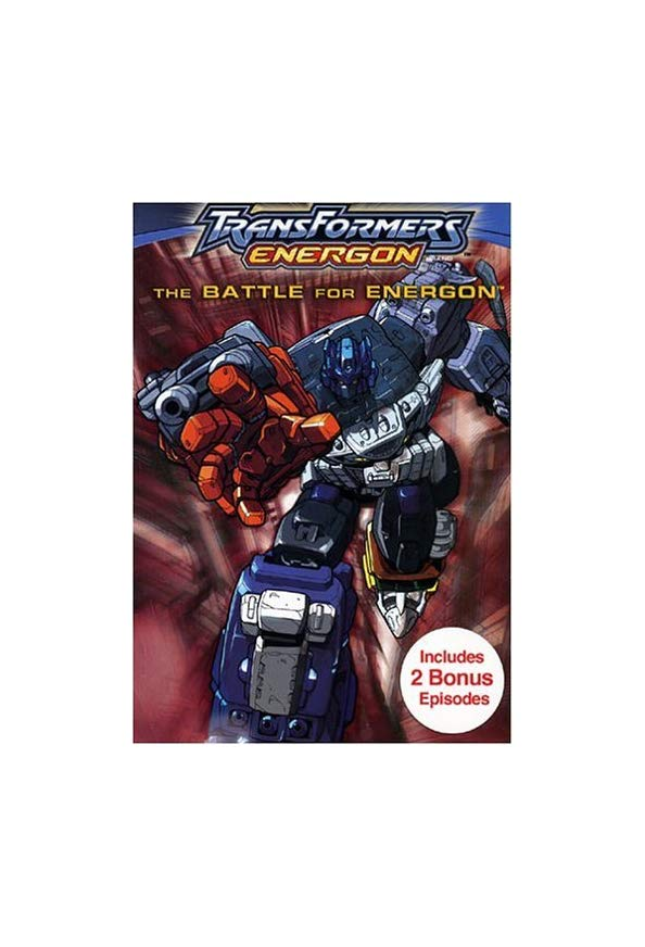 Transformers: Energon kapak