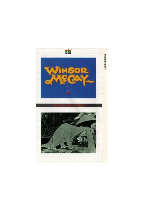 Animation Legend: Winsor McCay kapak