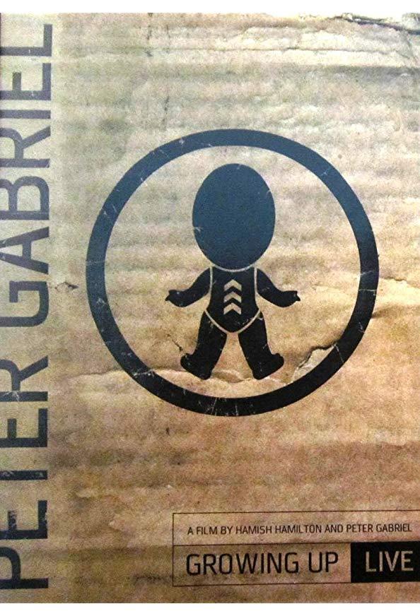 Peter Gabriel: Growing Up Live kapak