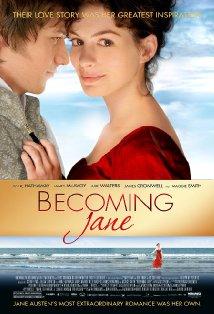 Becoming Jane kapak