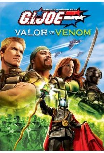 G.I. Joe: Valor vs. Venom kapak