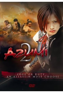 Azumi 2: Death or Love kapak