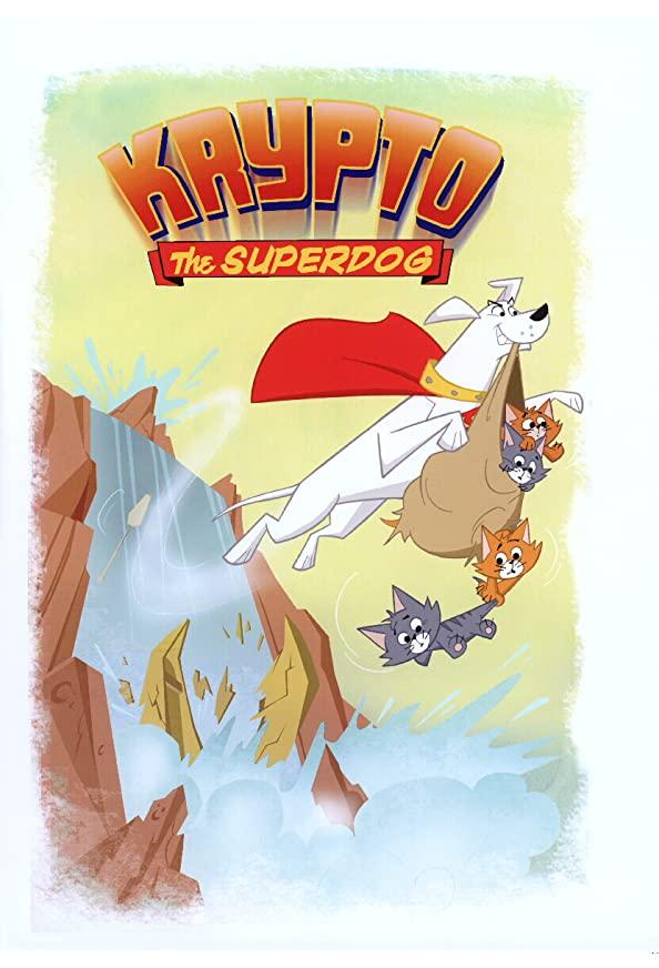 Krypto the Superdog kapak