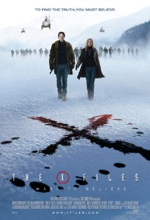 The X Files: I Want to Believe kapak