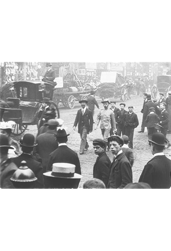 Manchester Street Scene kapak