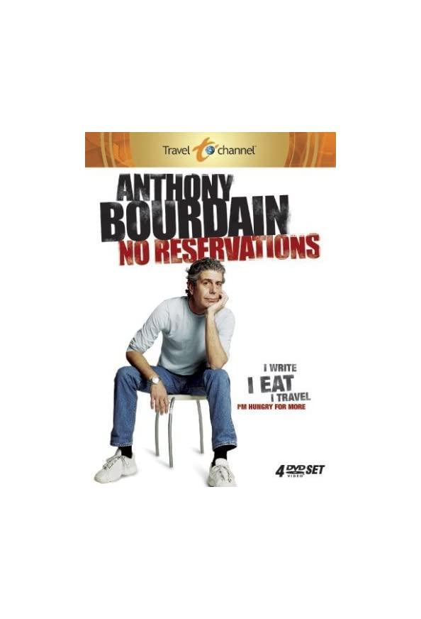 Anthony Bourdain: No Reservations kapak