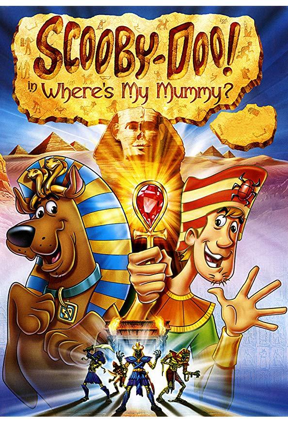 Scooby-Doo in Where's My Mummy? kapak