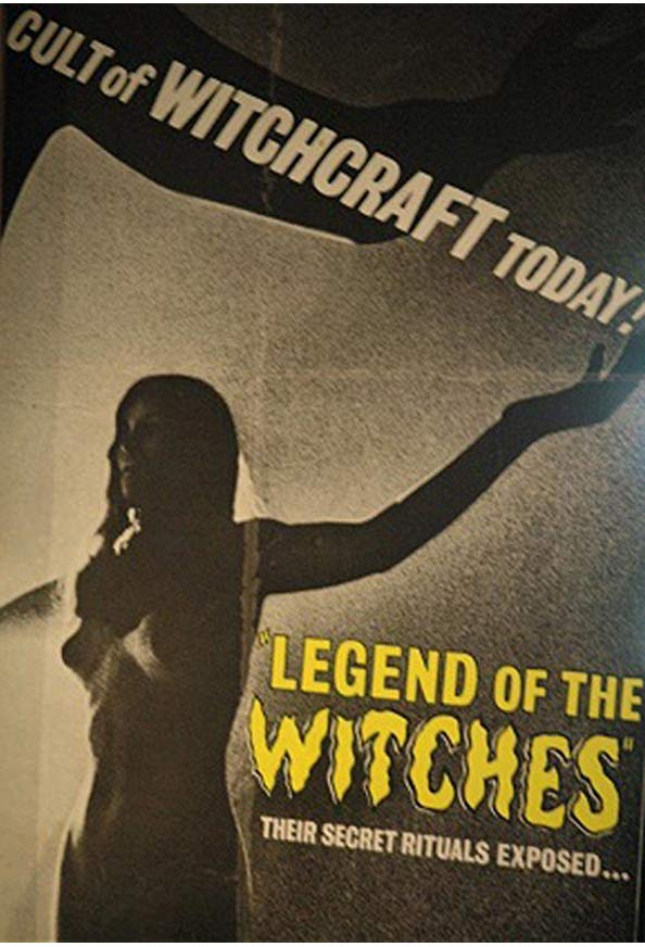 Legend of the Witches kapak