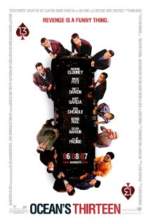 Ocean's Thirteen kapak