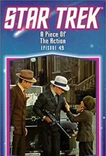 """Star Trek"" A Piece of the Action kapak"