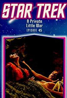 """""""Star Trek"""" A Private Little War kapak"""