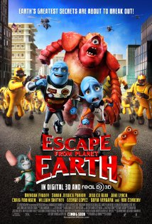 Escape from Planet Earth kapak