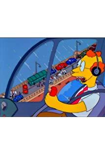 """The Simpsons"" Homer Alone kapak"