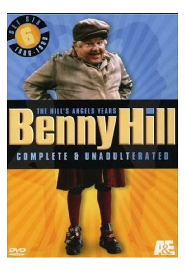 Benny Hill: The Hill's Angels Years kapak