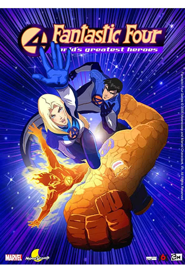 Fantastic Four: World's Greatest Heroes kapak
