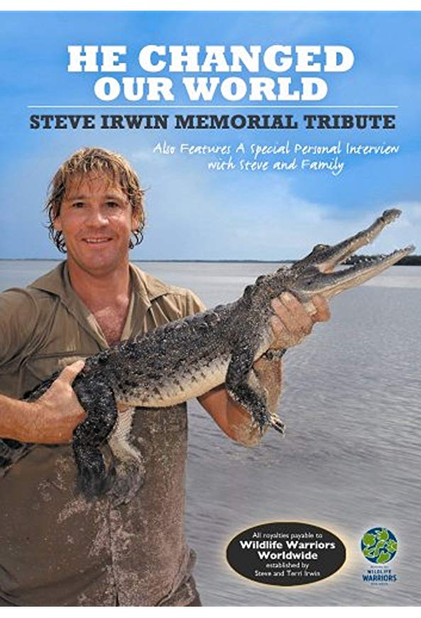 Steve Irwin: He Changed Our World kapak