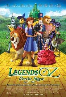 Legends of Oz: Dorothy's Return kapak