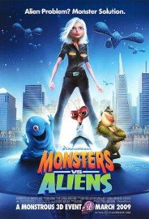 Monsters vs. Aliens kapak