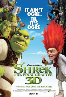 Shrek Forever After kapak