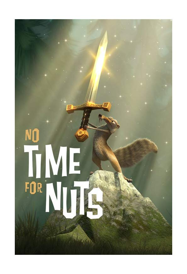 No Time for Nuts kapak