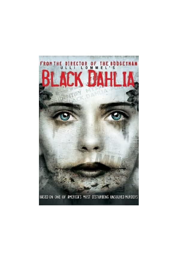 Black Dahlia kapak