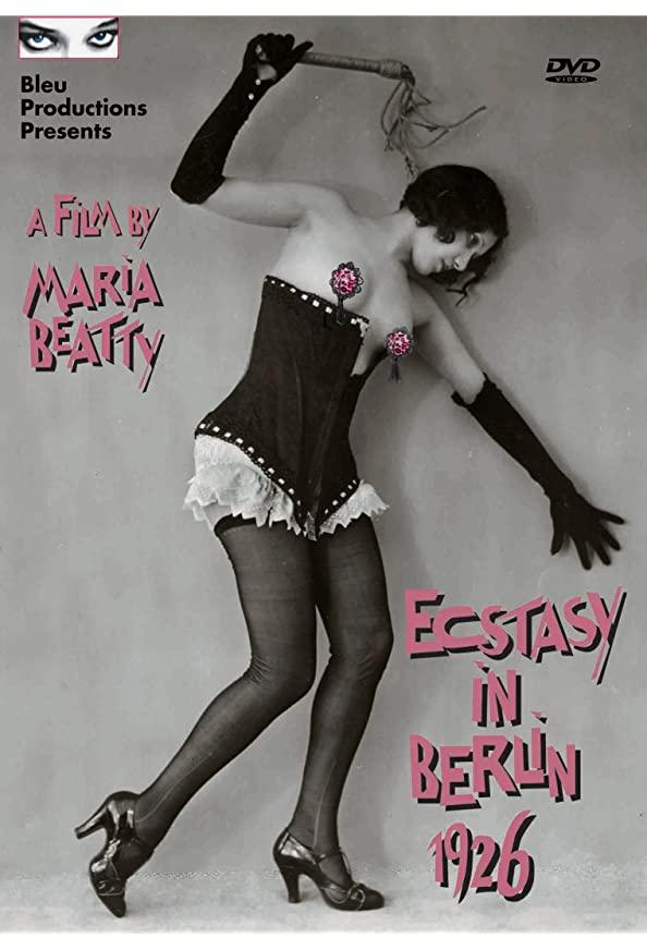 Ecstasy in Berlin, 1926 kapak