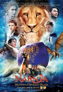 The Chronicles of Narnia: The Voyage of the Dawn Treader kapak