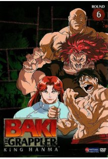 Baki the Grappler kapak