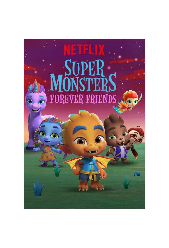 Super Monsters Furever Friends kapak