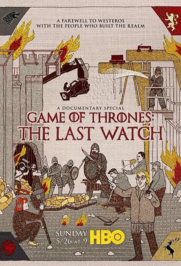 Game of Thrones: The Last Watch kapak