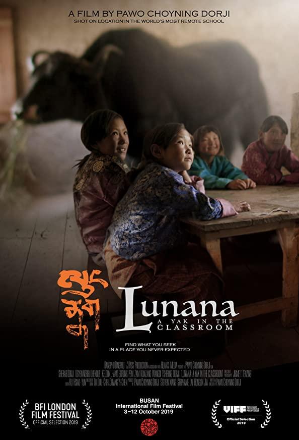 Lunana: A Yak in the Classroom kapak