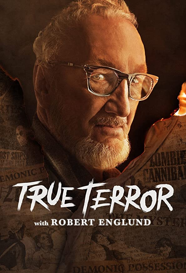 True Terror with Robert Englund kapak