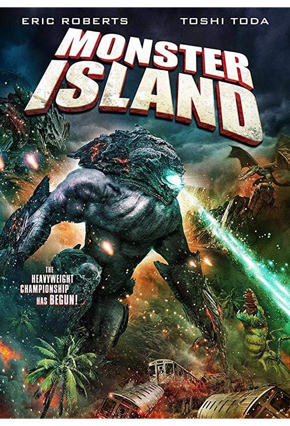 Monster Island kapak