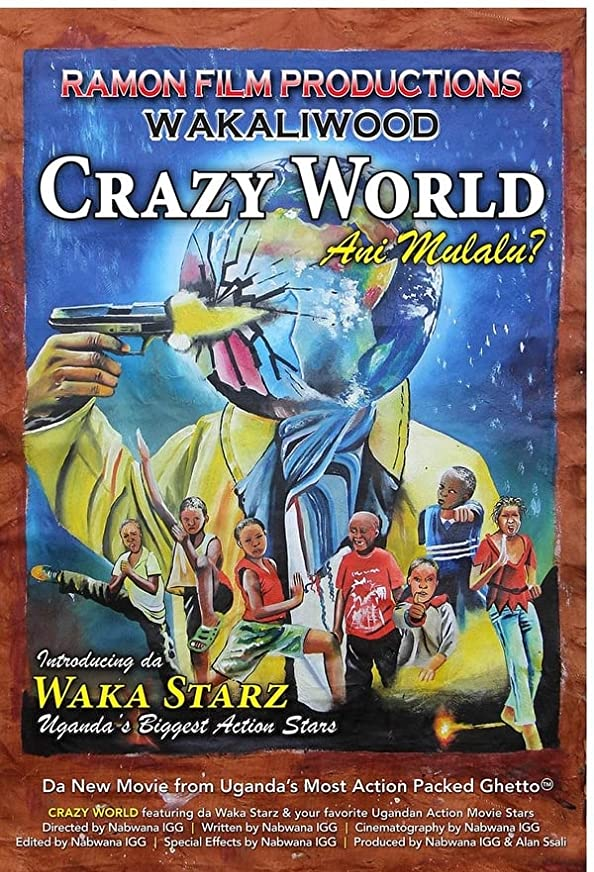 Crazy World kapak