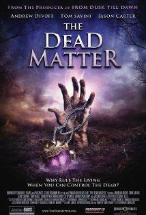 The Dead Matter kapak
