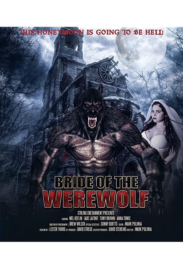 Bride of the Werewolf kapak