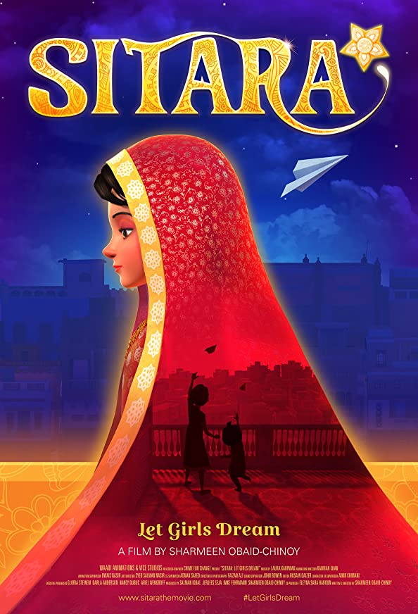 Sitara: Let Girls Dream kapak