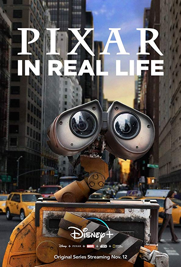 Pixar in Real Life kapak