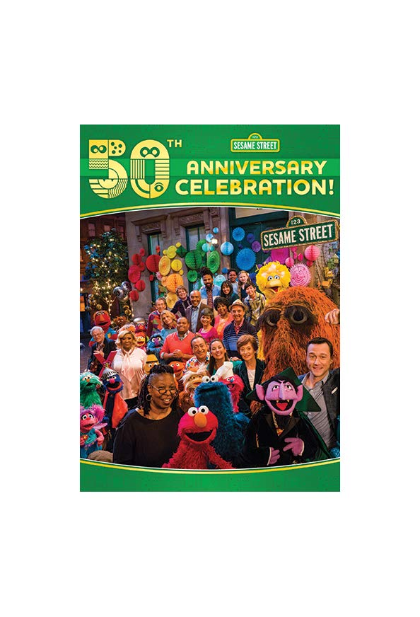 Sesame Street's 50th Anniversary Celebration kapak
