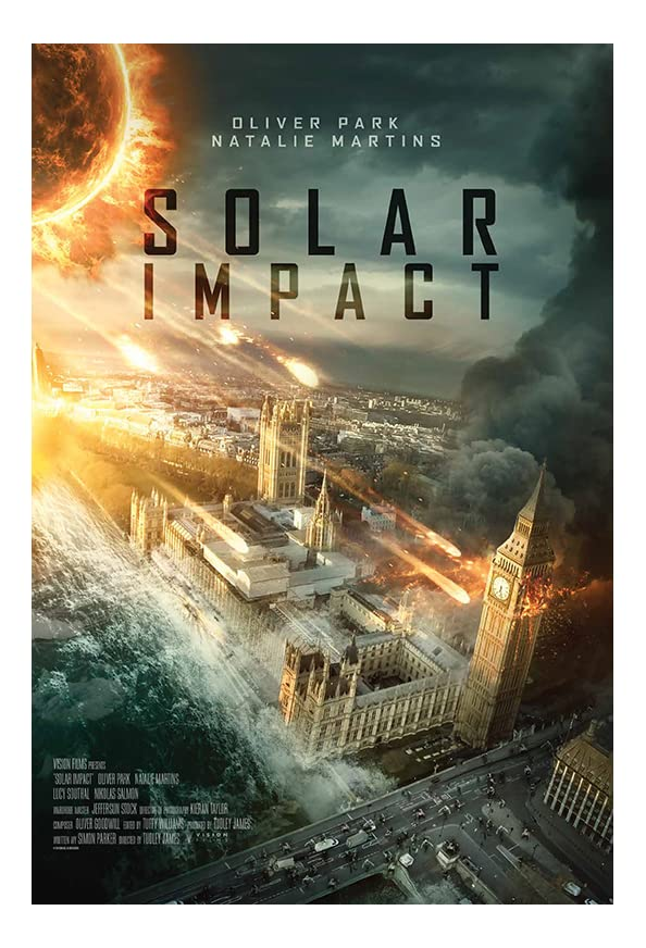 Solar Impact kapak