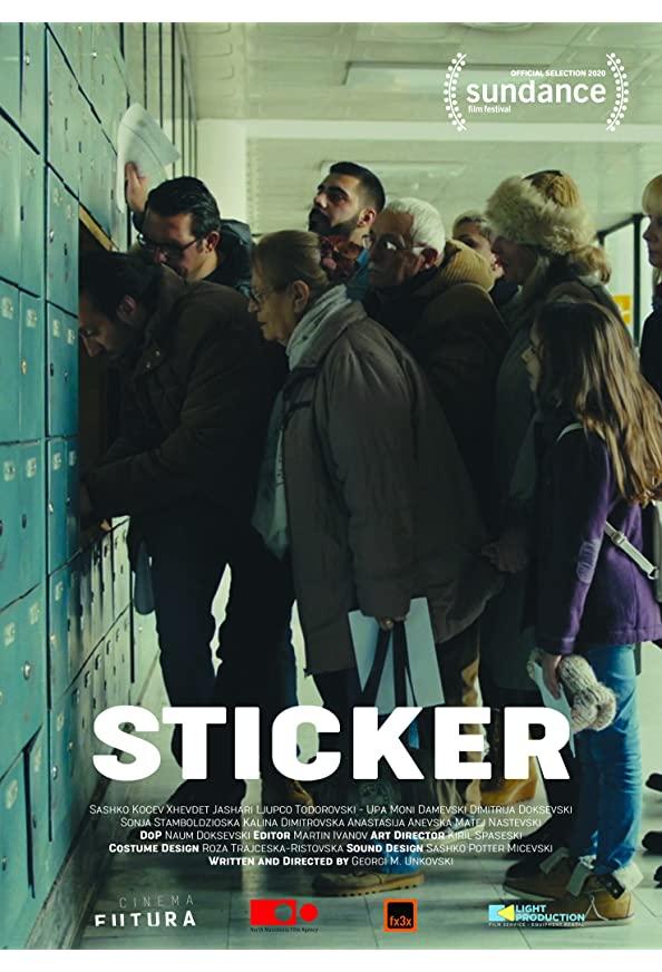 Sticker kapak