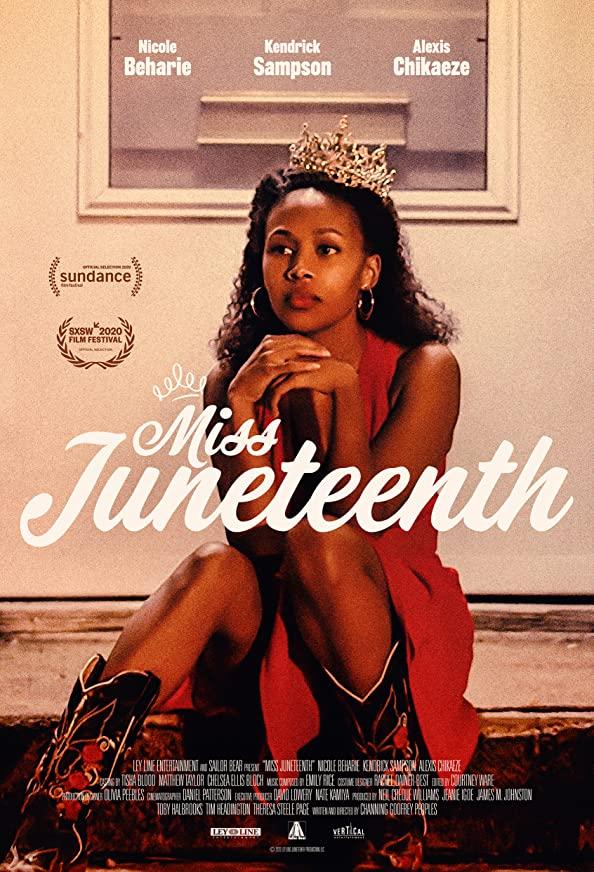 Miss Juneteenth kapak