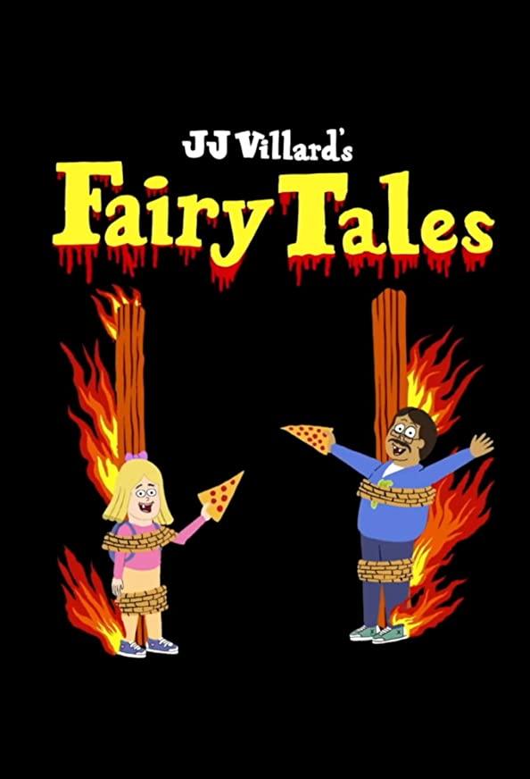 JJ Villard's Fairy Tales kapak