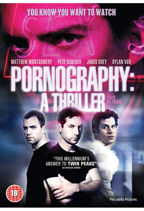 Pornography: A Thriller kapak