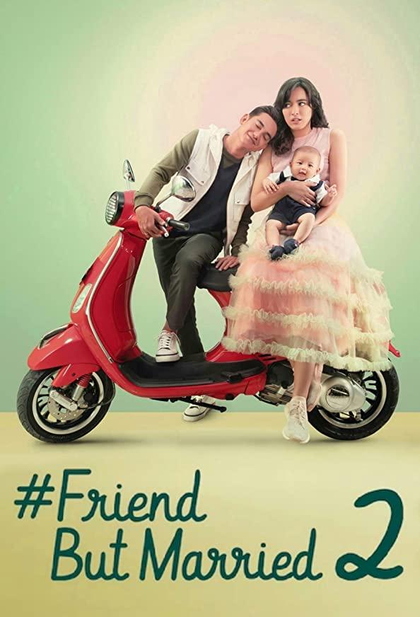 #FriendButMarried2 kapak