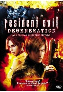 Resident Evil: Degeneration kapak