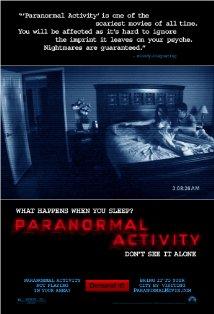 Paranormal Activity kapak