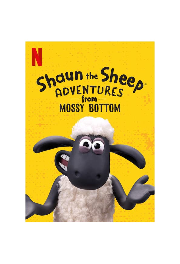 Shaun the Sheep: Adventures from Mossy Bottom kapak