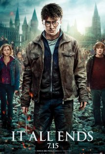 Harry Potter and the Deathly Hallows: Part 2 kapak
